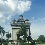 Das Siegestor von Vientiane
